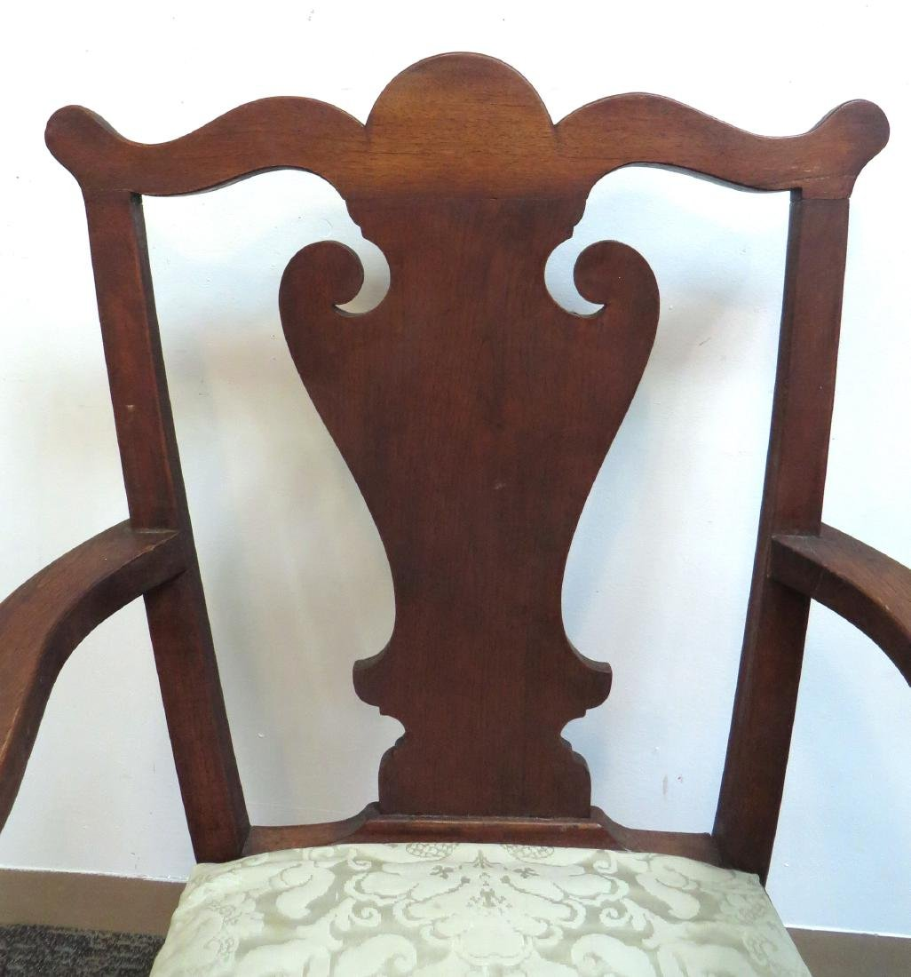 ANTIQUE CHIPPENDALE STYLE CHAIR - 2