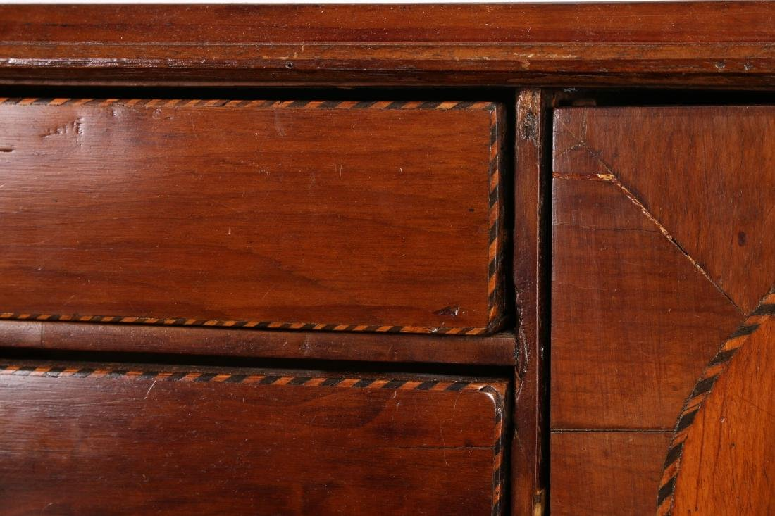 CHEST OF DRAWERS WITH DESK TOP C 1800 - 4