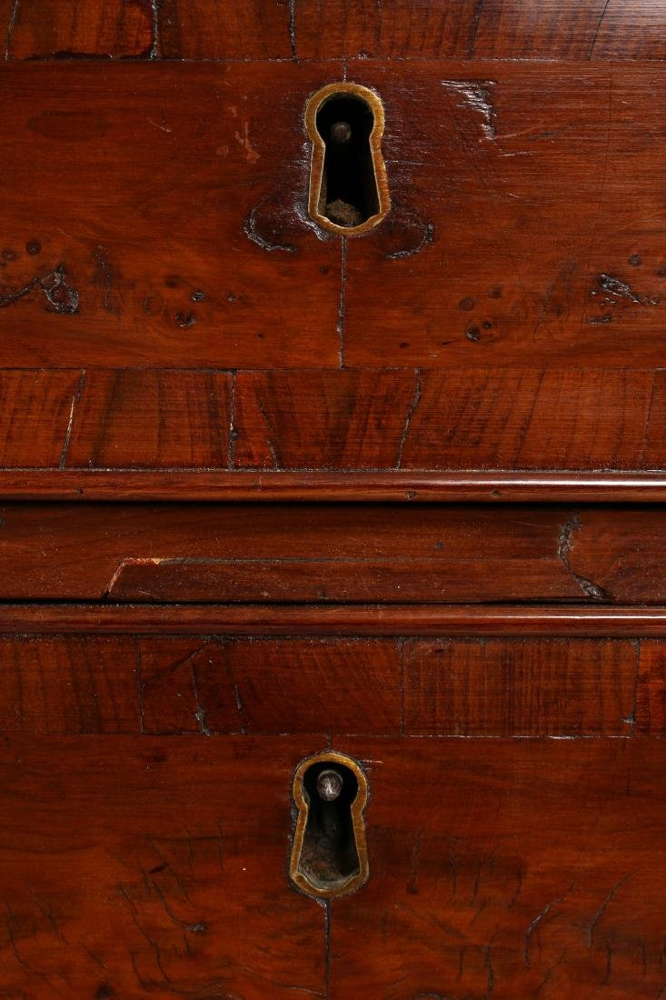 CHEST OF DRAWERS WITH DESK TOP C 1800 - 6