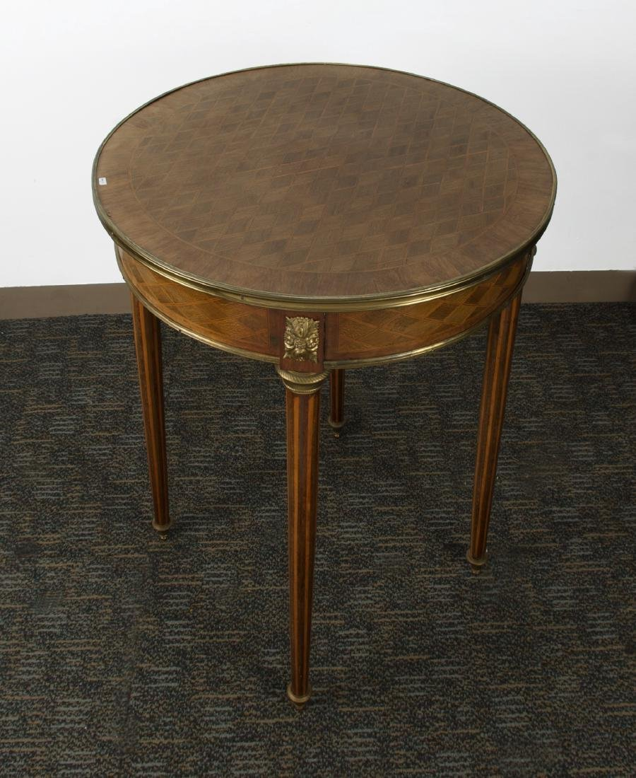 ROUND END TABLE - 7