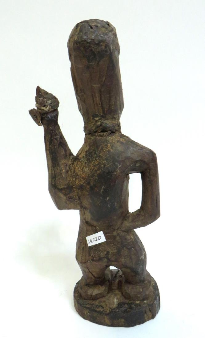 AFRICAN FIGURE WITH SPEAR - 4