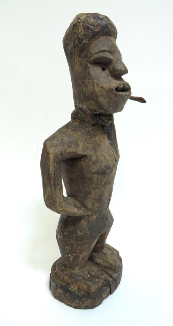 AFRICAN FIGURE WITH SPEAR - 5