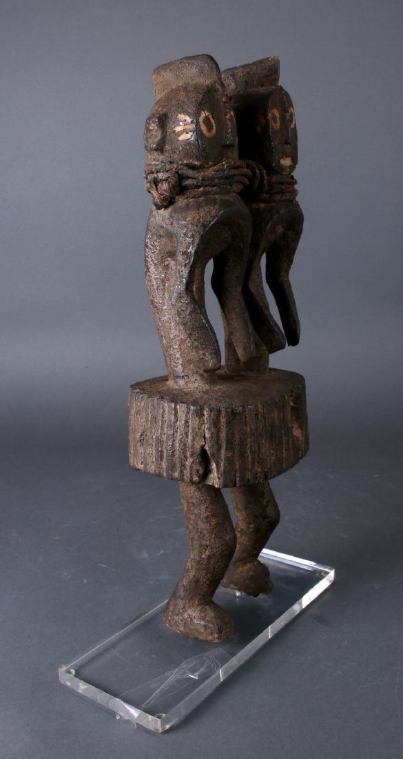 AFRICAN NIGERIAN TWINS SCULPTURE - 4