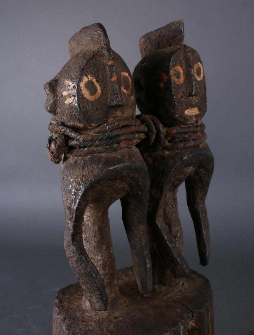 AFRICAN NIGERIAN TWINS SCULPTURE - 6