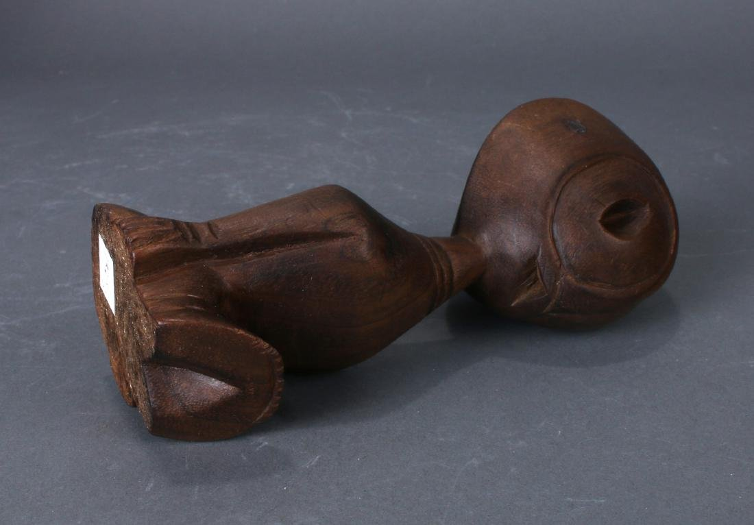 TWO AFRICAN CARVINGS - 10