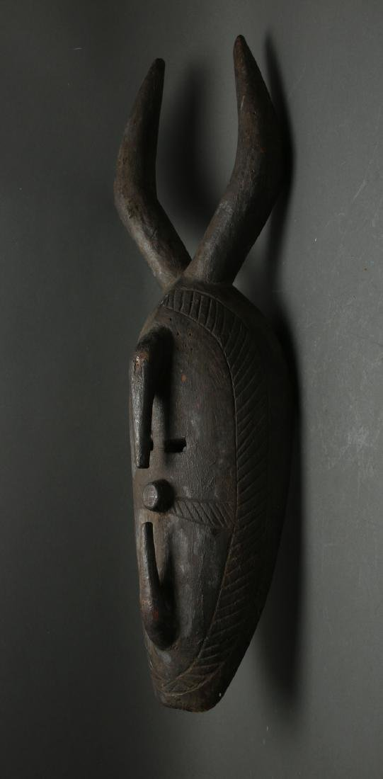AFRICAN HORNED MASK - 2