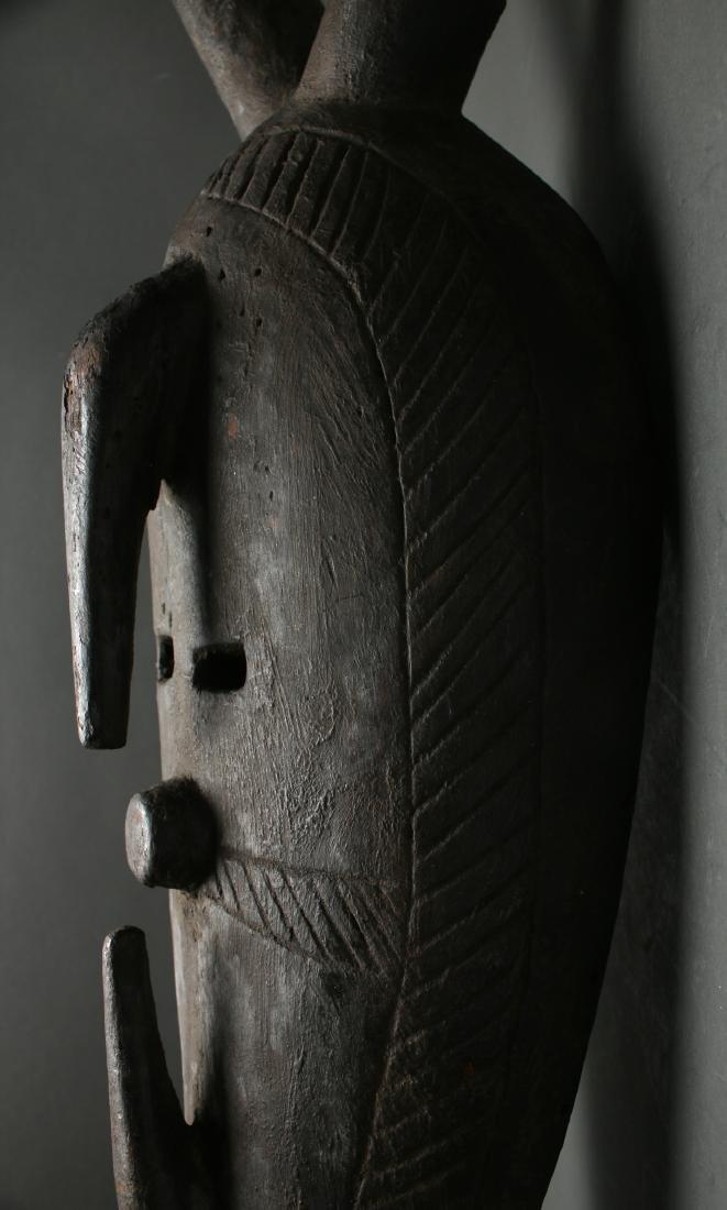 AFRICAN HORNED MASK - 3
