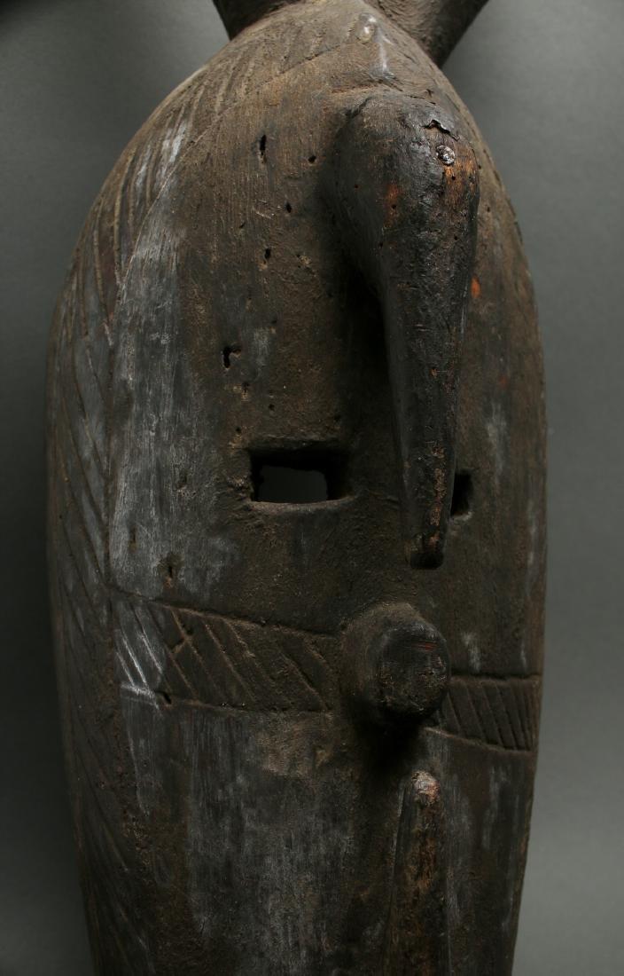 AFRICAN HORNED MASK - 4