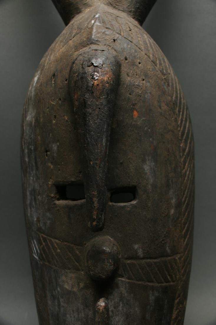 AFRICAN HORNED MASK - 5