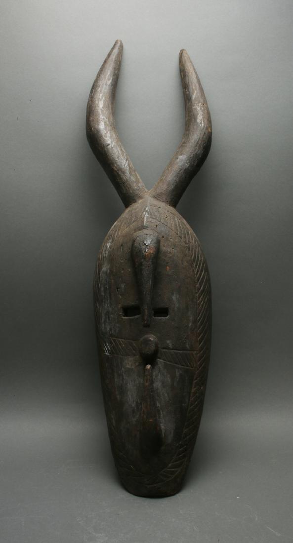 AFRICAN HORNED MASK - 6