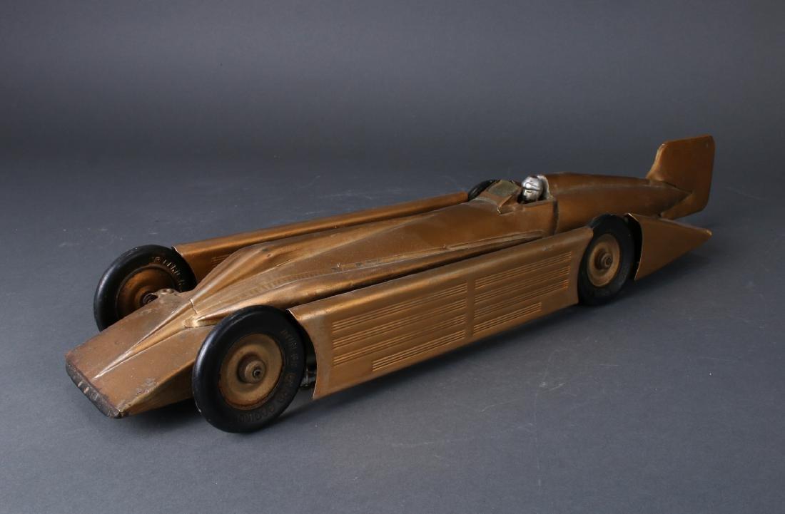 1930S KINGSBURY MOTOR DRIVEN STREAMLINE RACE CAR - 3