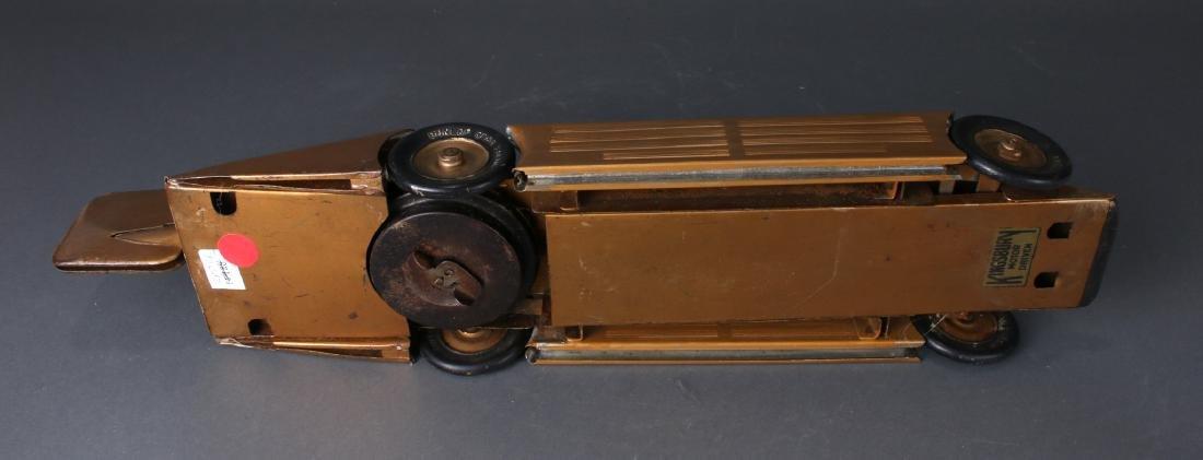 1930S KINGSBURY MOTOR DRIVEN STREAMLINE RACE CAR - 5