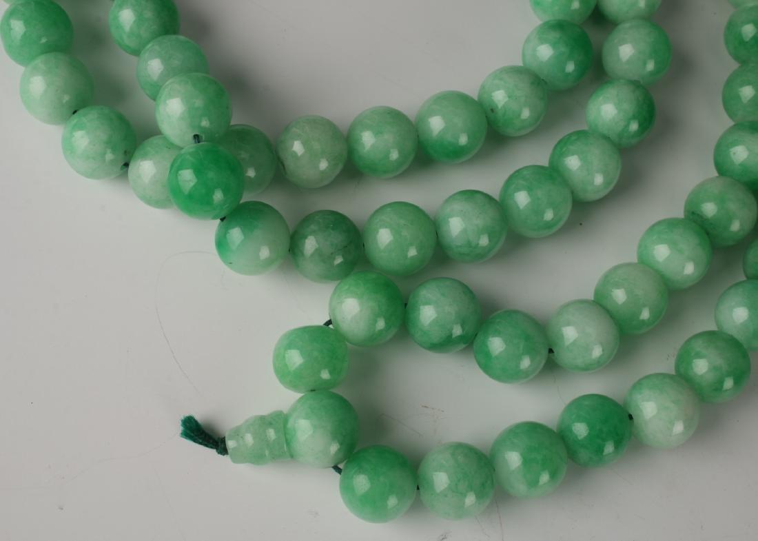 LIGHT GREEN JADE NECKLACE