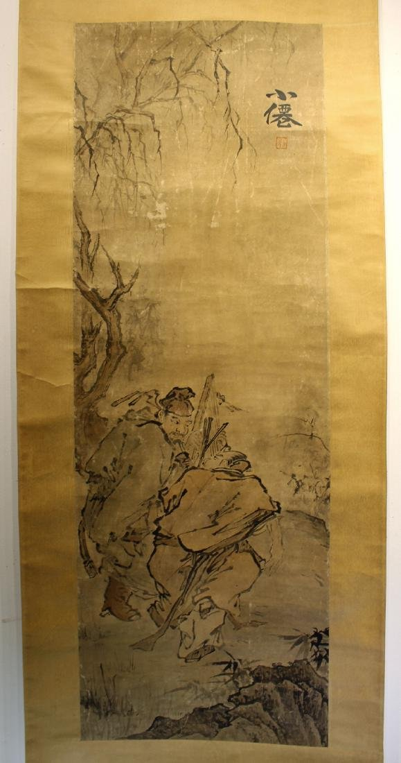 CHINESE PAINTING SIGNED WU WEI