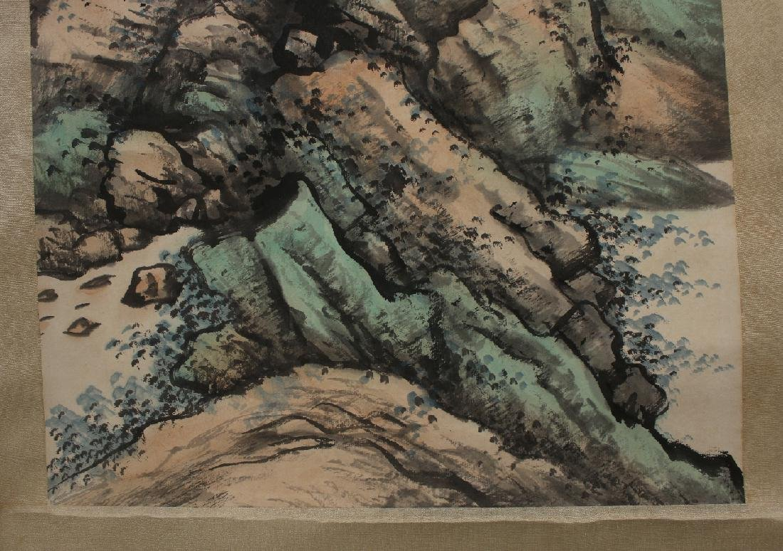 SCROLL OF MOUNTAIN STREAM - 5