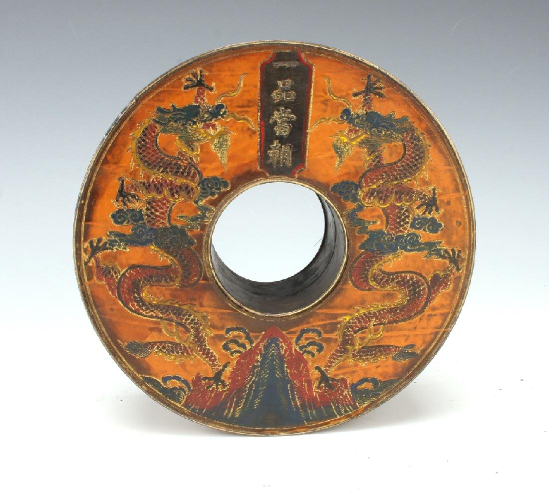 CIRCULAR CHAO ZHU BOX