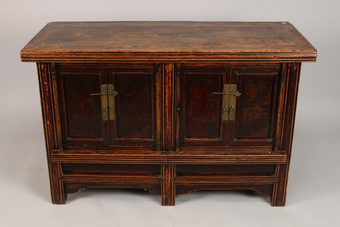 CHINESE ELM CABINET - 2