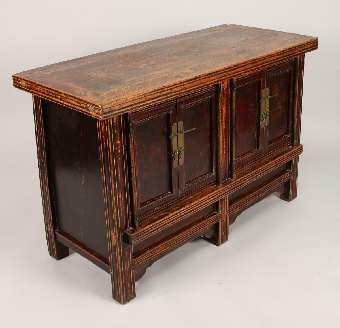 CHINESE ELM CABINET - 7