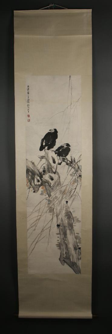 SCROLL OF BLACK CROWS