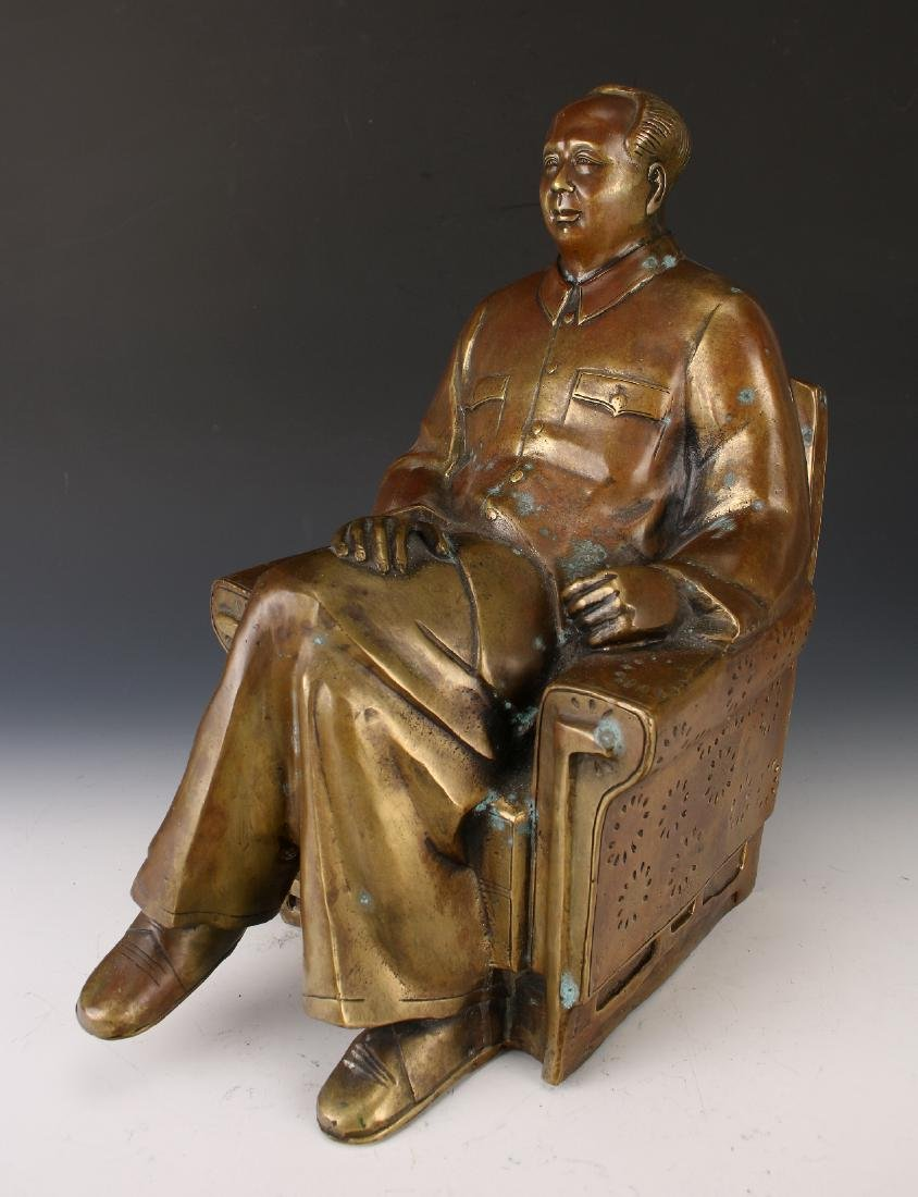 BRONZE OF CHAIRMAN MAO - 2