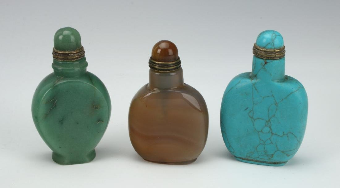 FIVE SNUFF BOTTLES - 3
