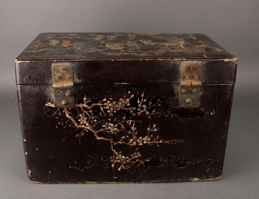 BLACK LACQUER BOX - 5
