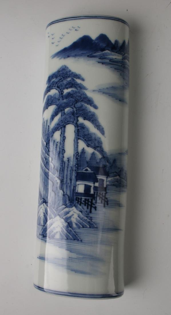 BLUE & WHITE WRIST REST - 2