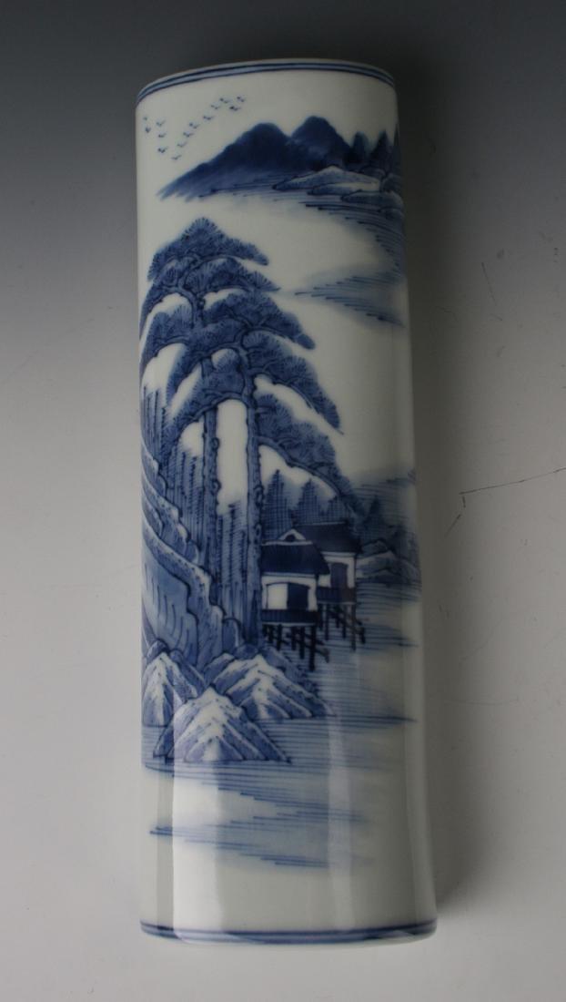 BLUE & WHITE WRIST REST - 3