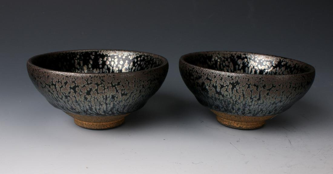 TWO HARE'S FUR BOWLS - 3