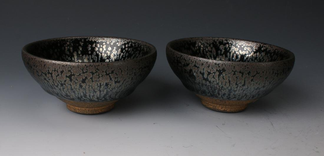 TWO HARE'S FUR BOWLS - 4