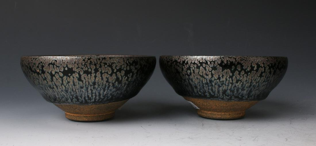 TWO HARE'S FUR BOWLS - 5