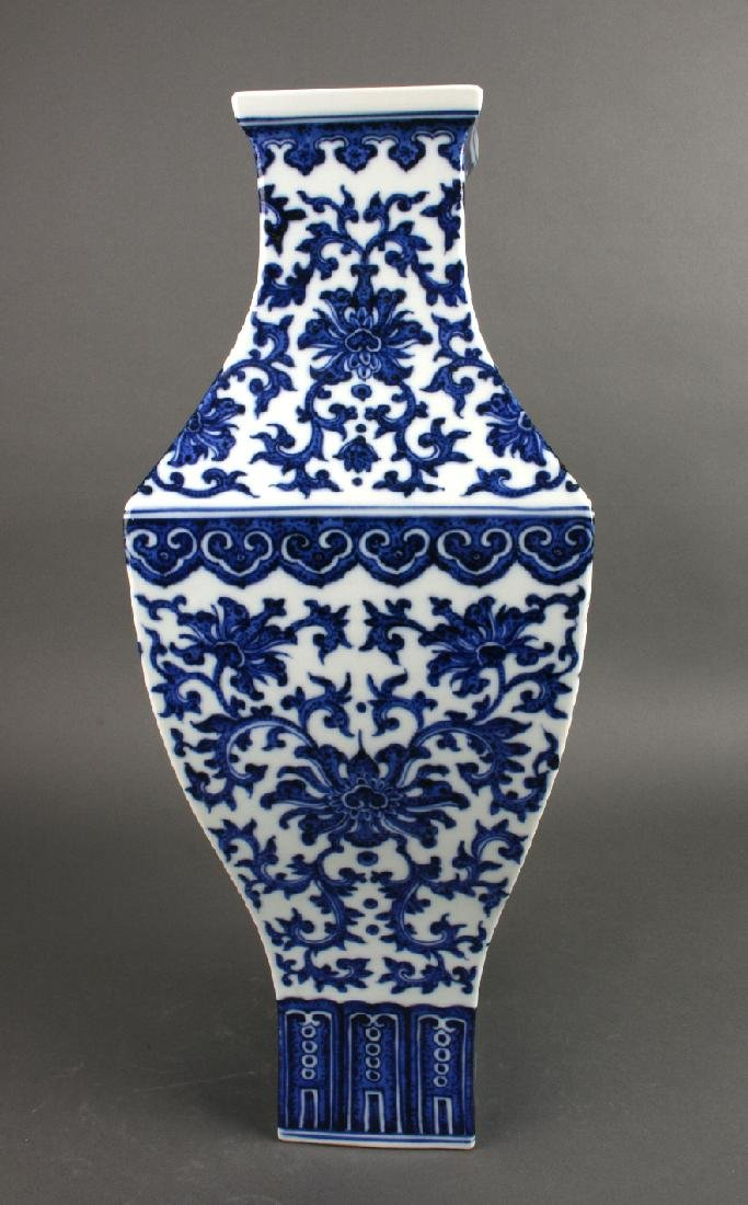 BLUE AND WHITE VASE - 2