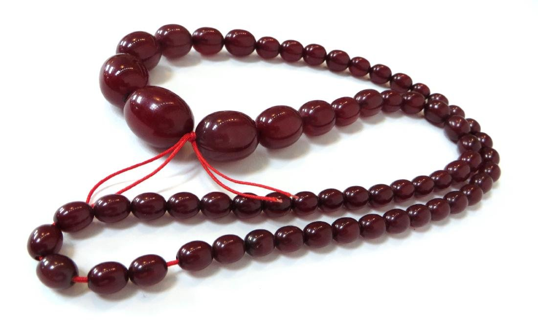 RED BEAD NECKLACE - 4