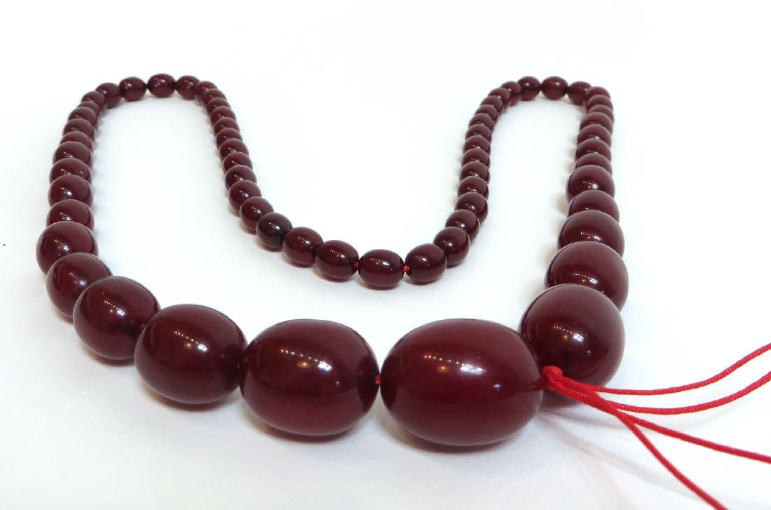 RED BEAD NECKLACE - 5