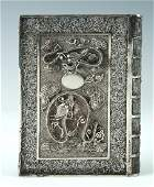 CHINESE EXPORT SILVER CALLING CARD HOLDER