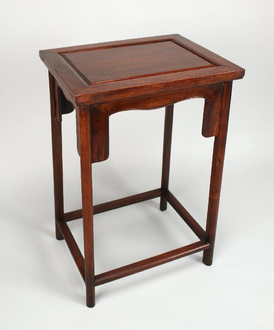 ROSEWOOD END TABLE