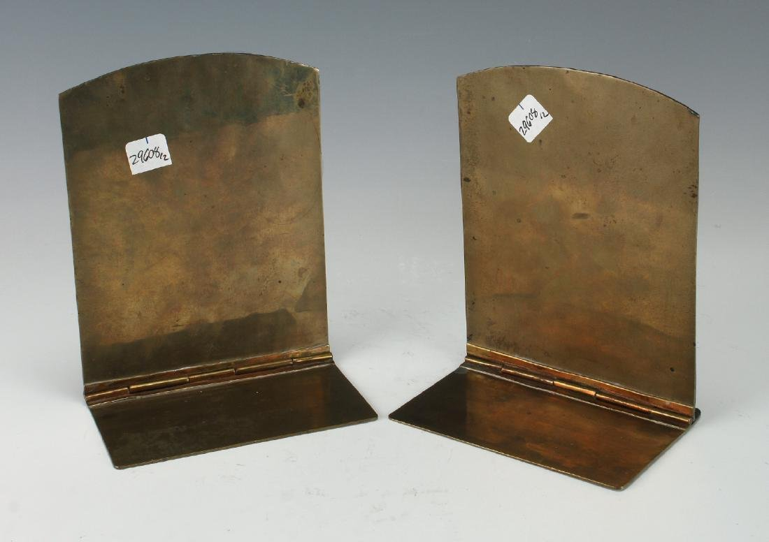 20TH CENTURY CHINESE ENAMEL BOOKENDS - 9