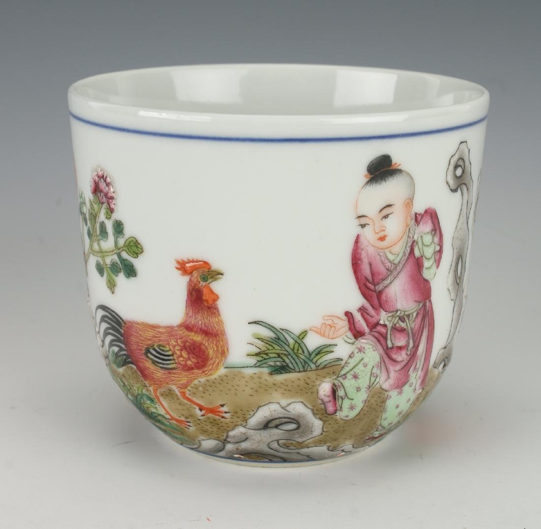 ROOSTER TEA CUP
