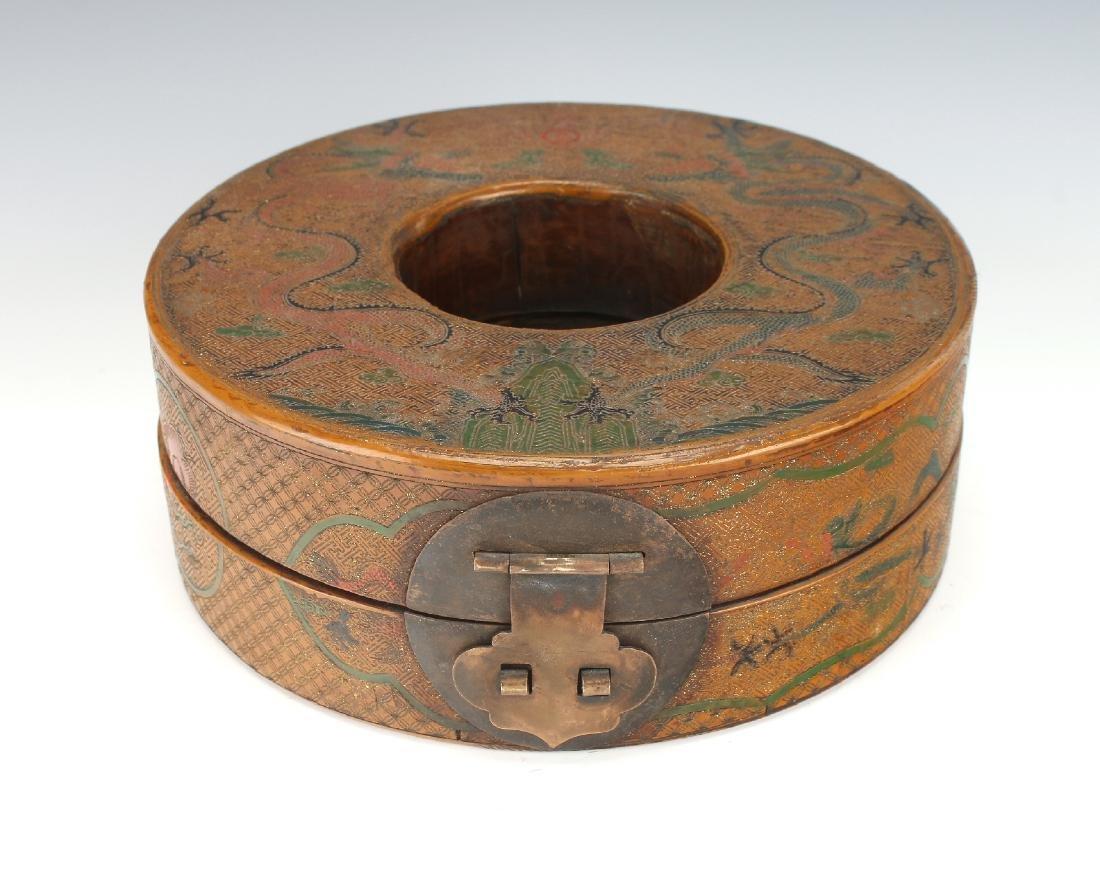 LACQUERED CHAO ZHU BOX