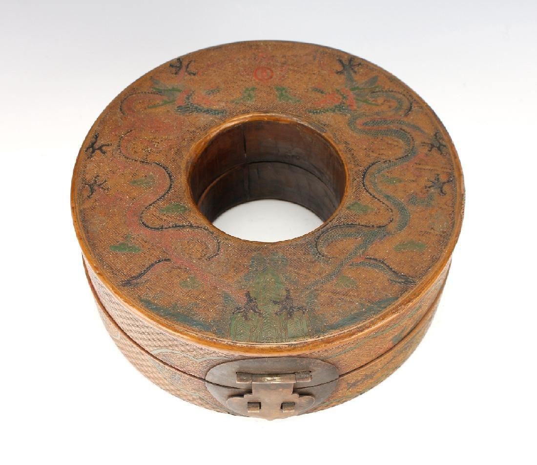 LACQUERED CHAO ZHU BOX - 2