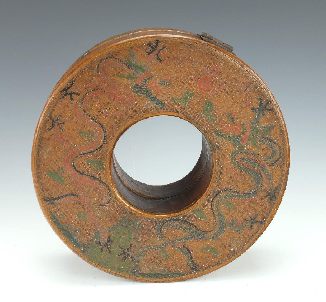 LACQUERED CHAO ZHU BOX - 5