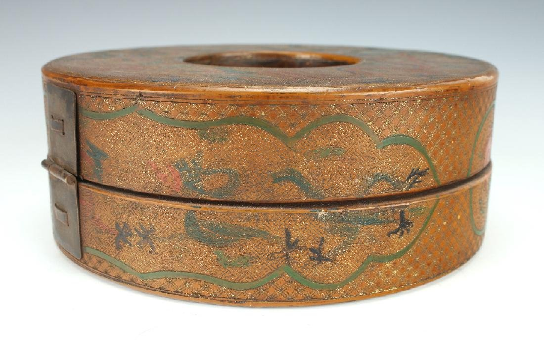 LACQUERED CHAO ZHU BOX - 6