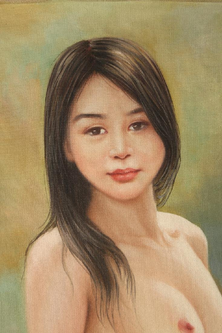 OIL ON CANVAS PAINTING OF A NUDE - 2