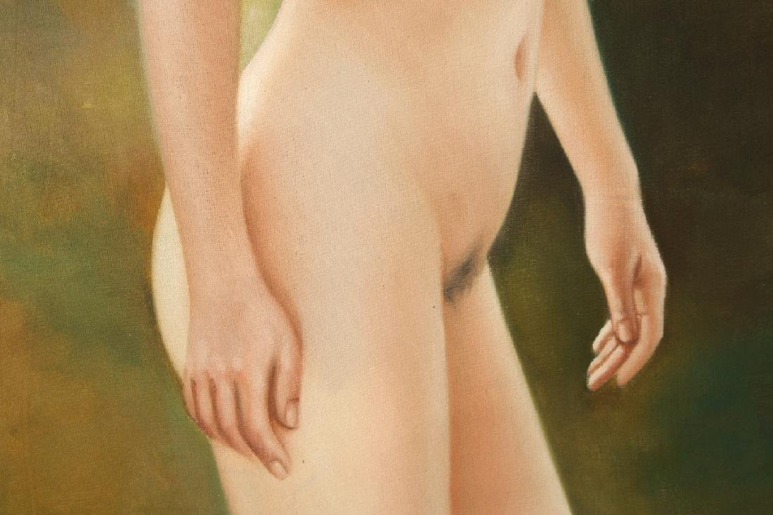 OIL ON CANVAS PAINTING OF A NUDE - 4