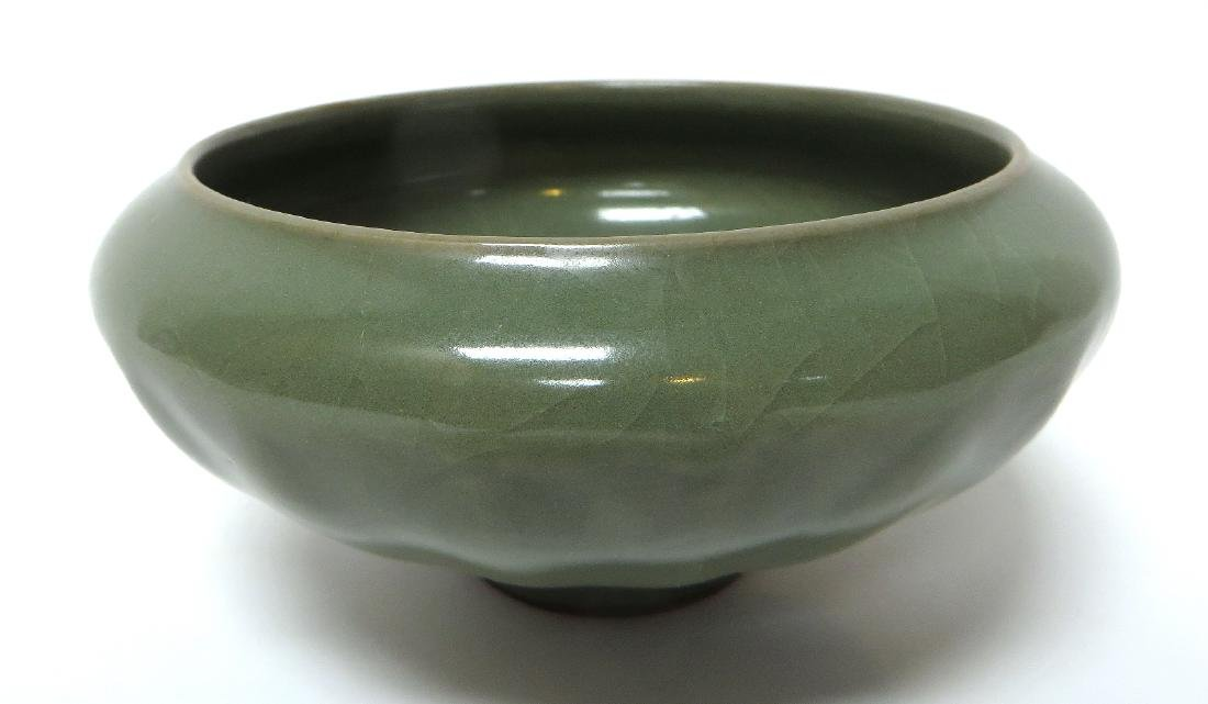 FOOTED CELADON BOWL