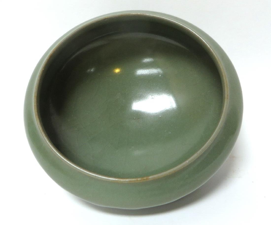 FOOTED CELADON BOWL - 3