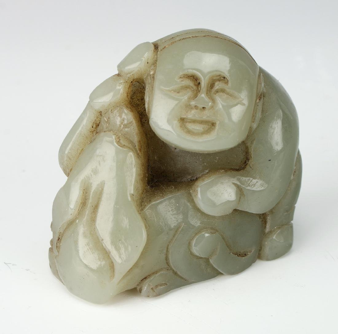 EIGHT JADE PENDANTS - 5