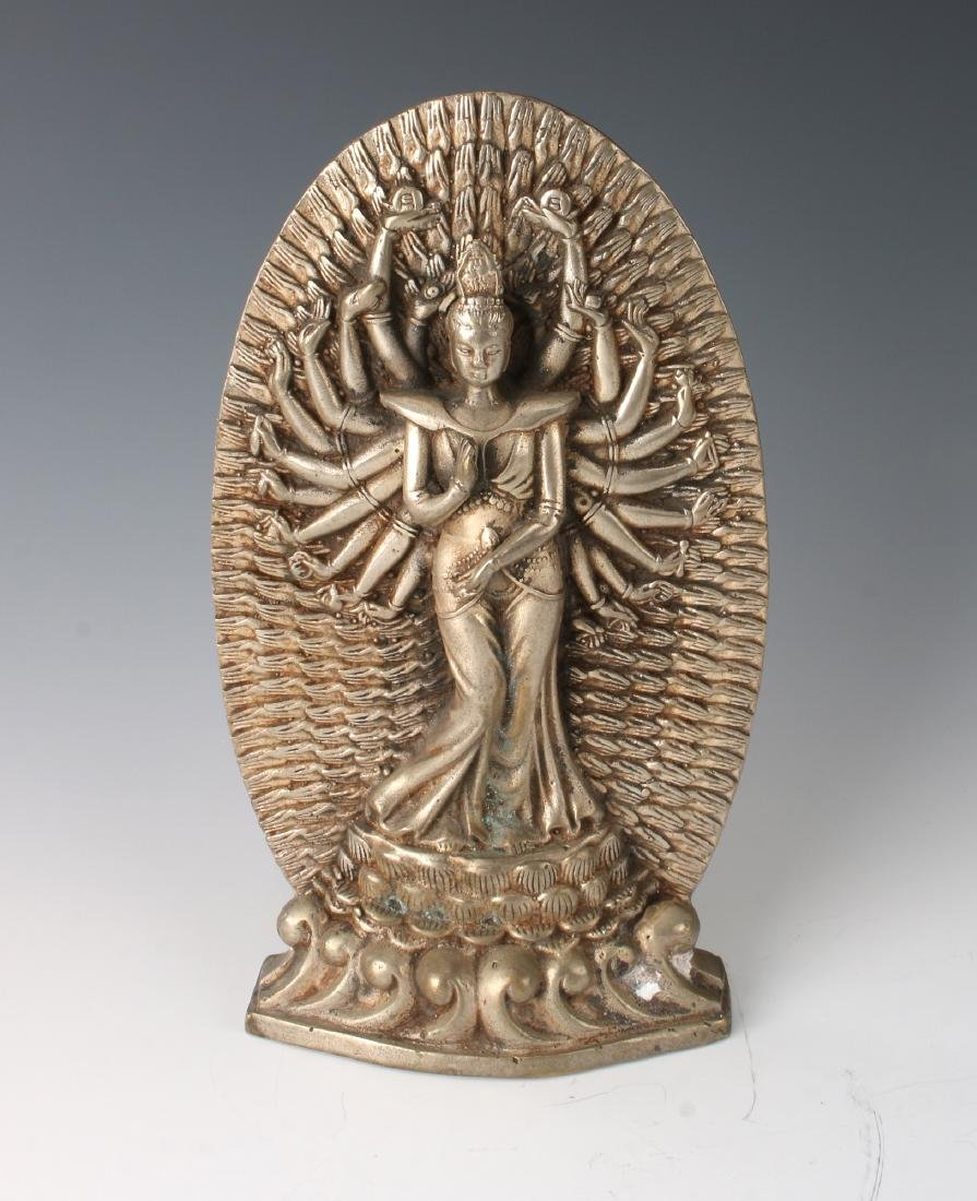 TWENTY-TWO ARMED QUAN YIN STATUETTE