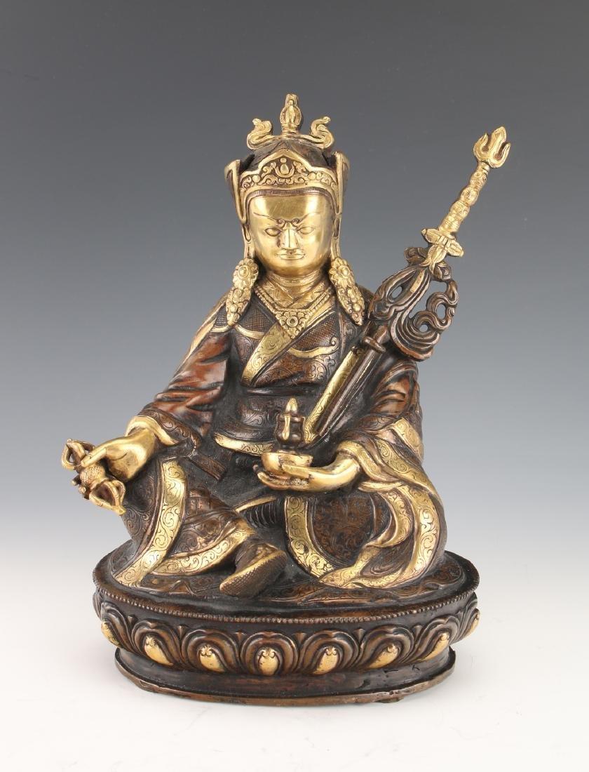 BUDDHA WITH STAFF