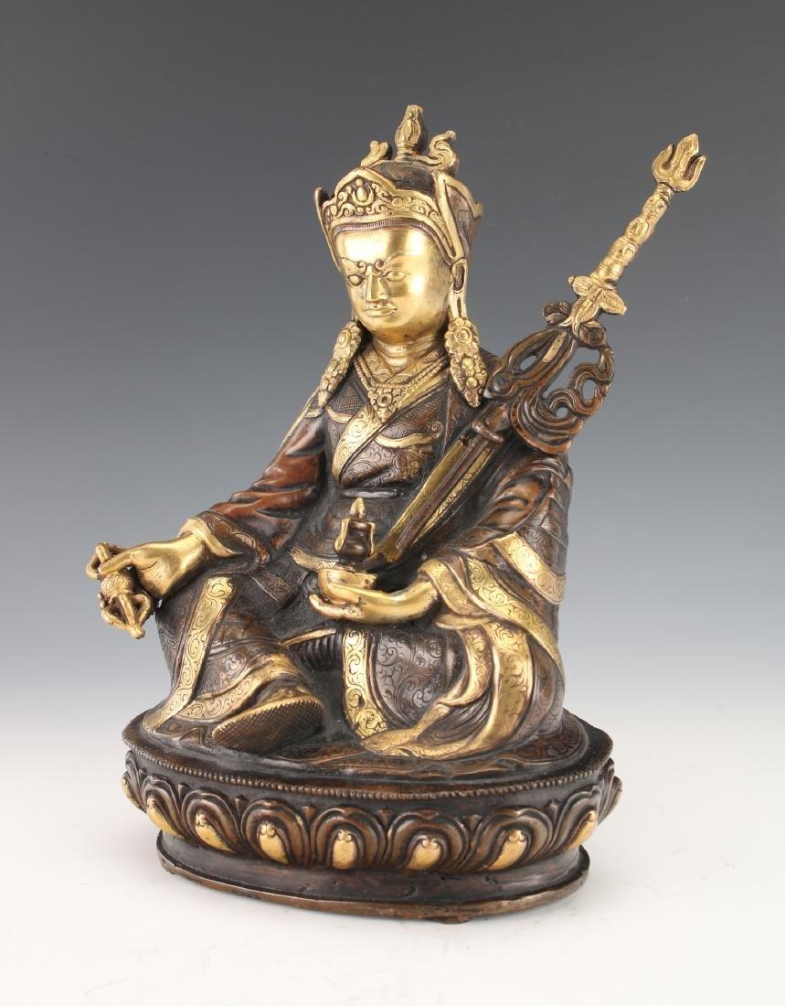 BUDDHA WITH STAFF - 2